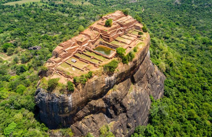 Aerial-View-of-the-Sigiriya-Rock-Fortress-in-Sri-Lanka (1)